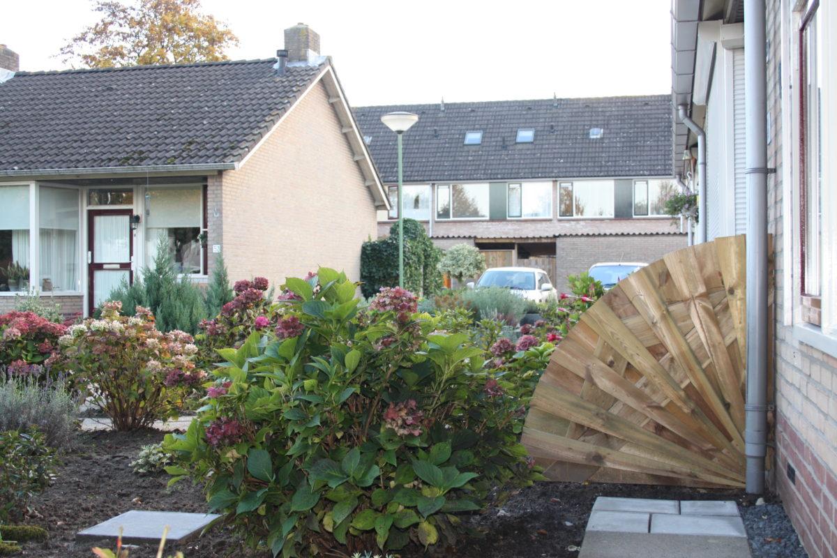 Creatieve Oplossing Schutting : Creatieve oplossing schutting great ook zijn de meeste tuinen
